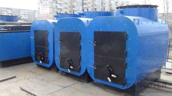 Котел твердотопливный КВСрд 500 кВт